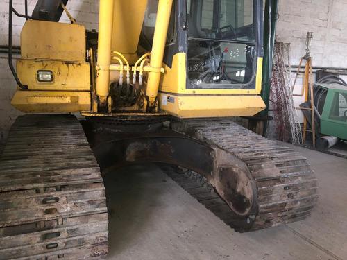 excavadora komatsu pc 160 2008