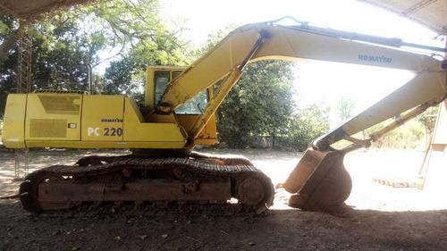 excavadora komatsu pc 220