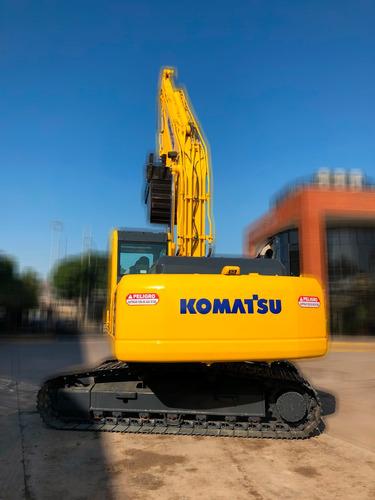 excavadora komatsu pc200-8 año 2017