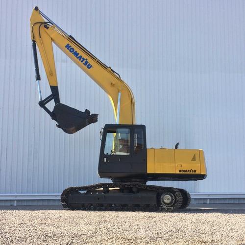 excavadora komatsu pc200 (usada)