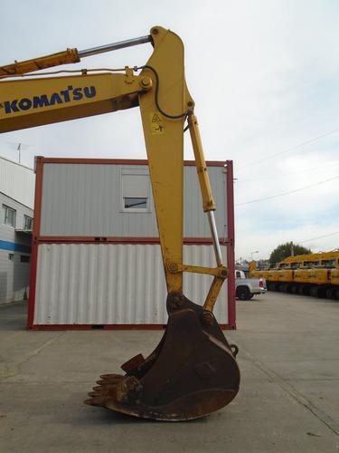 excavadora komatsu pc200lc-8