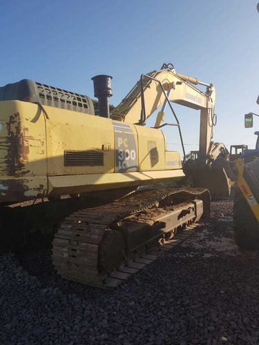 excavadora komatsu pc300lc-8