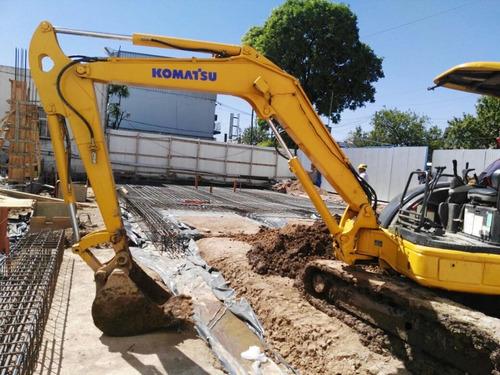 excavadora komatsu pc50