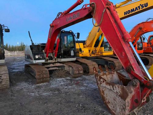 excavadora link-belt 130 año 2014