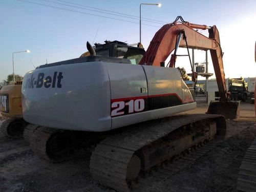 excavadora link-belt 210 año 2014