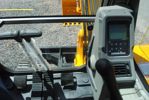 excavadora lonking cdm6065 6050kgs valor por anticipo!!!