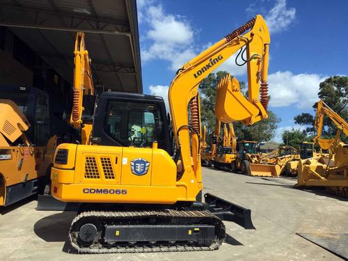 excavadora lonking cdm6065 - 6tn - 0,25 mts! precio anticipo