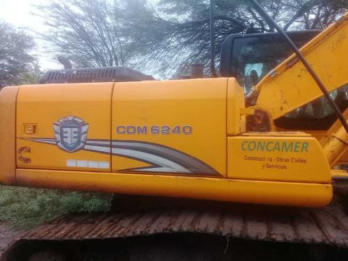 excavadora lonking cdm6240 22 tn usada año 2017 3000 hs !!!!
