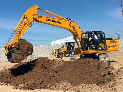 excavadora lonking cdm6240 motor cummins! precio anticipo!