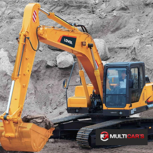 excavadora lovol fr220 22tn motor cummins financiada maqhd