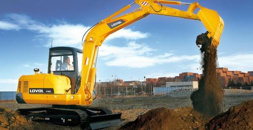 excavadora lovol fr60 de 6tn motor yanmar financiada maqhd