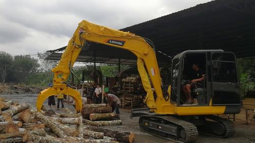 excavadora lovol fr80 de 8tn motor isuzu financiada maqhd