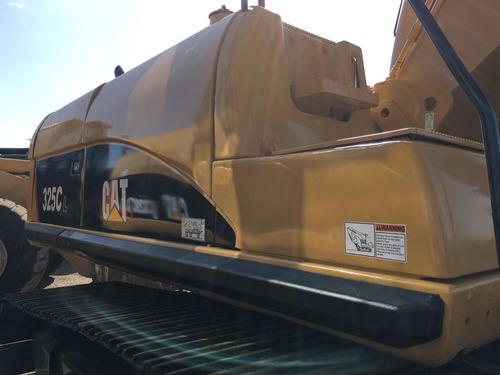 excavadora marca caterpillar modelo 325cl   construcción