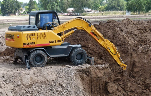 excavadora michigan oruga