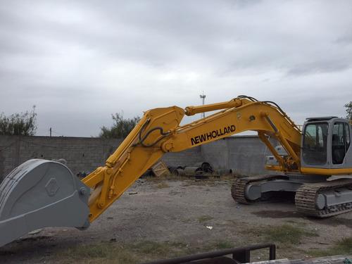 excavadora new holland e 385 b (con kit) ano 2008