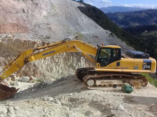 excavadora oruga en excelentes condiciones