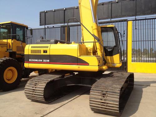 excavadora oruga nueva zoomlion ze230· 23 ton