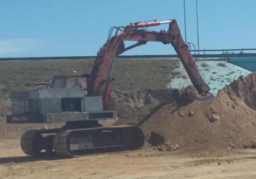 excavadora poclain lc80operativa funcionando envio al pais