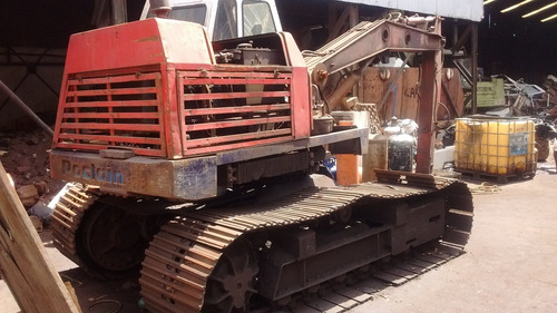 excavadora poclain tc 45 retroexcavadora