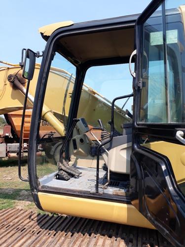 excavadora retroexcavadora cat 320 cl balde 1.5