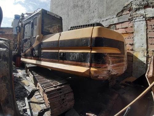 excavadora retroexcavadora caterpillar 320 bl turbo diesel