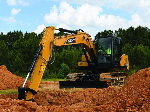 excavadora sany sy135c (15 toneladas), desde