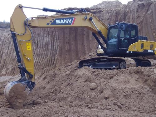 excavadora sany sy215c (21 toneladas), desde