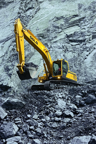 excavadora sdlg lg6225e