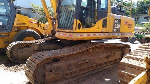 excavadora seminueva komatsu pc350  ano 2011 6.590hs