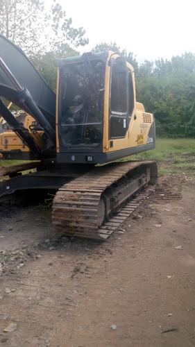 excavadora sobre oruga