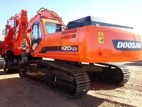 excavadora sobre orugas doosan dx500lca