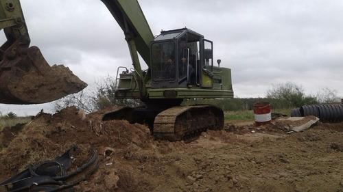 excavadora sobre orugas hidromac h115