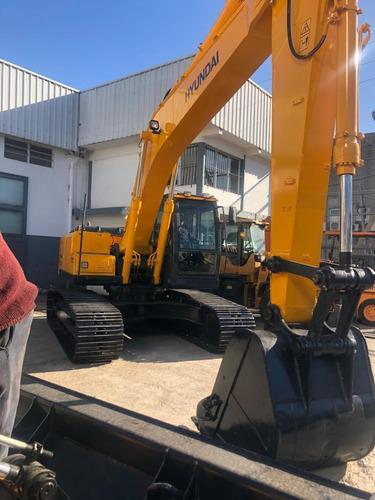 excavadora sobre orugas hyundai 210 año 2012 con  maquinasjm