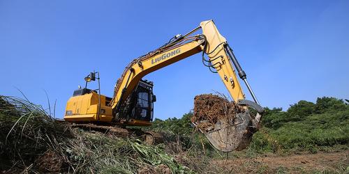 excavadora sobre orugas liugong  clg 915 e