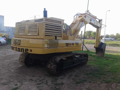 excavadora tortone 160 balde 1m3 peso 15t financiada maqhd