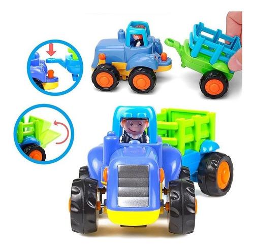 excavadora - tractor rural vehiculos friccion hola 326ab edu