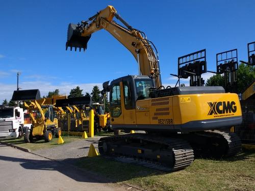 excavadora xcmg xe215br