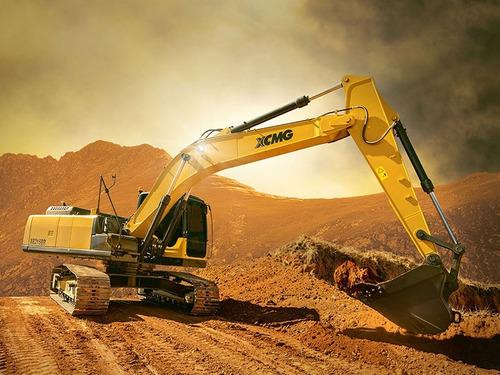 excavadora xcmg xe215br mejor financiacion entrega y cuotas
