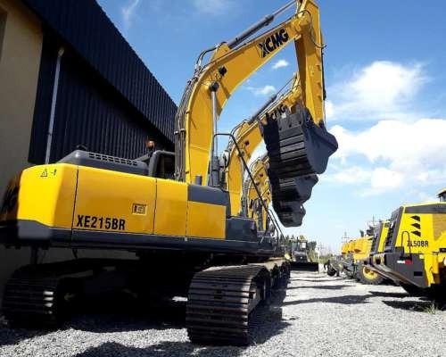 excavadora xcmg xe215c brasil mejor financiacion propia