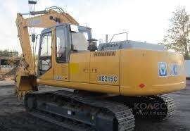 excavadora xcmg xe215c inmediata financiacion propia