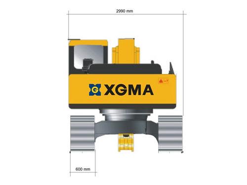 excavadora xgma xg822 22 tonelada motorman m4q