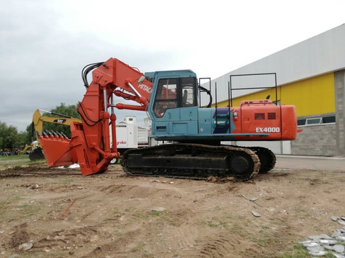 excavadorafrontal hitachi ex400-3, front shovel