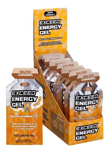 exceed energy gel - gelcarbo carbo gel exceed - todos sabore