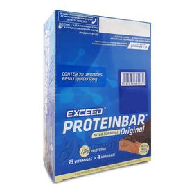 Exceed Protein Bar Original Caixa  Barra De Proteína