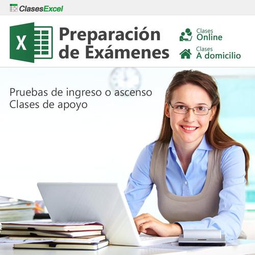 excel básico, avanzado: clases particulares online, cursos