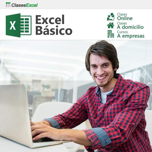 excel básico, avanzado y macros: clases particulares, cursos