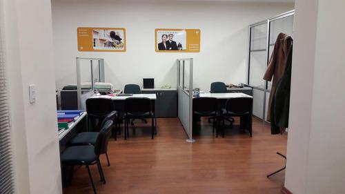 excel oficina amueblada, apto crédito-almagro
