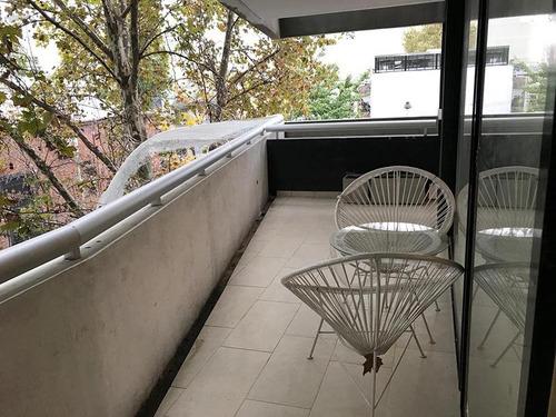 excelenet dos ambientes con balcon y cochera opcional en palermo