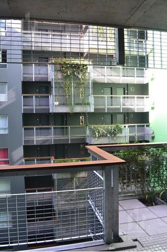 excelente  1 amb amoblado al frente con balcón y amenities