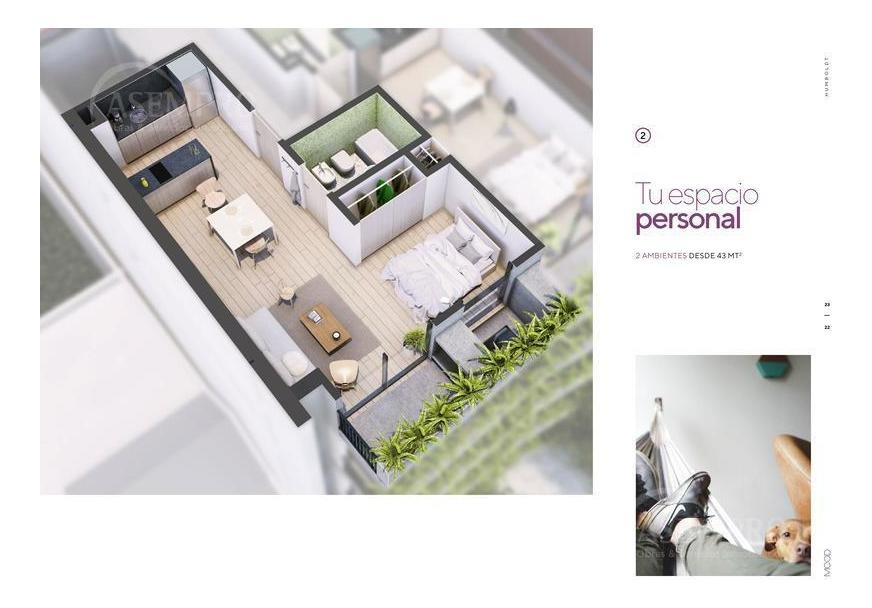 excelente 2 ambientes c/balcon terraza // planes de financiacion, cuotas en pesos!!!